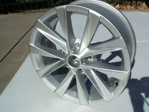 2017 2019 Vw Golf Wheel Oem Rim 10 Spoke 17 Inch Silver 7jx17