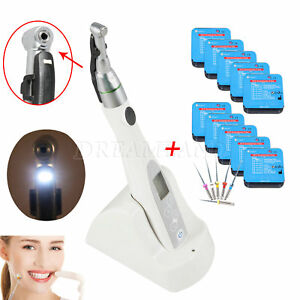 16 1 Reciprocation Led Holder Root Canal Contra Dental Endo Motor 60x Niti Tips