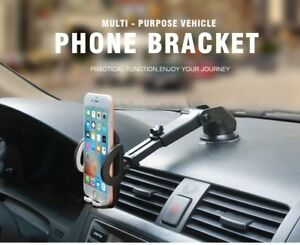 Universal Car Windshield Dashboard Mount Suction Cup Holder For Cell Phone