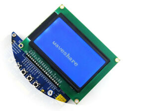 Lcd12864 st 3 3v Blue Backlight 128 64 Dots Graphic Lcd Module White Character