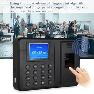 2 4in Tft Display Fingerprint Time Clock Employee Recorder Attendance Machine