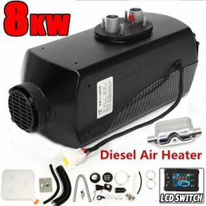 8000w Air Diesel Petrol Parking Heater Warming 12v For Truck motor homes boat My