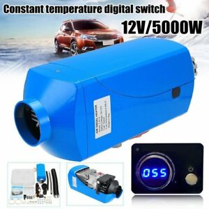 5kw 12v Air Diesel Fuel Heater For Trucks Motor Homes Boat Bus Digital Switch Ma