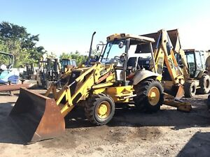 Jcb 214 Backhoe Loader
