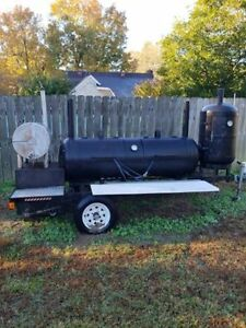 Competetion Bbq Trailer Smoker Super Nice Barbeque Cooker