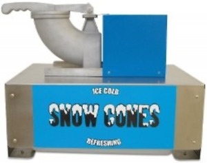 Commercial Snow Cone Maker Snow Blitz Shaved Crushed Ice Machine