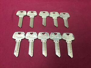 Sargent Ll Lhm 5 Pin 6 Pin Key Blanks Set Of 10 Locksmith