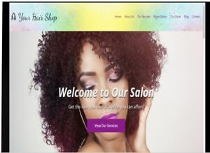 Website Amazon Affiliate Hair Salon Website h001 Over 900k Products To Add