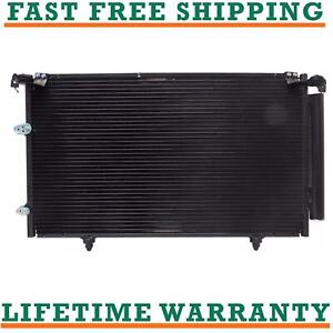 New A c Condenser Camry 02 08 Es300 02 06 4cyl V6 Fast Free Shipping