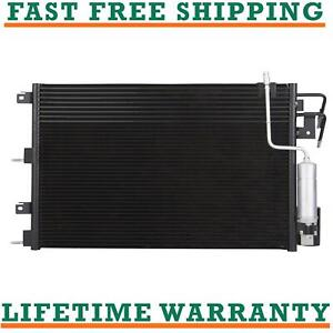 3672 Condenser Fits Ford Focus Automatic Transmission 2008 2009 2010 2011