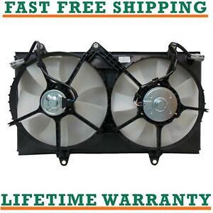 Radiator And Condenser Fan For Toyota Chevrolet Fits Corolla Prizm To3115106