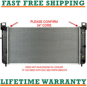 Radiator For Chevy 1500 Gmc Yukon 34 Core V8 Free Shipping Direct Fit