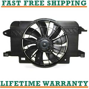 Radiator And Condenser Fan For Saturn Fits Sl Sl1 Gm3115121