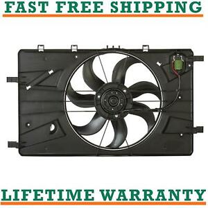 Radiator Ac Condenser Cooling Fan Fits Chevy Cruze 11 15 Buick Verano 12 17
