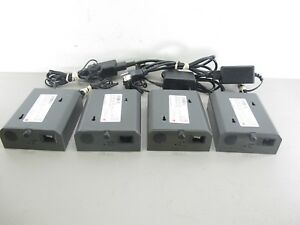 Checkpoint C pt Vii Antitheft Security Deactivator Pad Power Supply Lot Of 4