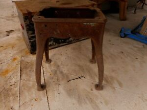 Cast Iron Table Base 4 Legs Antique Industrial Loft Vintage Cabin Apx 22 Tall