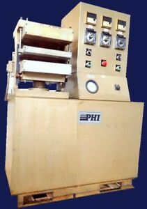 Phi 20 Ton Hydraulic Electric Platen Molding 4 Post Press