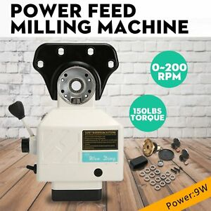X Axis Power Feed Milling Acer Adjustable Speed Milling Machine