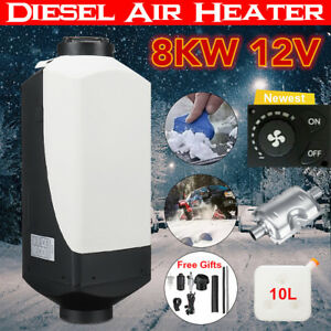 8kw 12v Air Diesel Heater For Car Trucks Motor homes Boats Bus Knob Switch My
