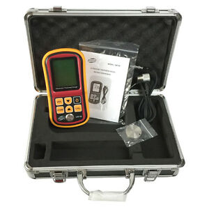 Ultrasonic Thickness Meter Tester Gauge Velocity Metal Gm 100 Digital 1 2 225mm