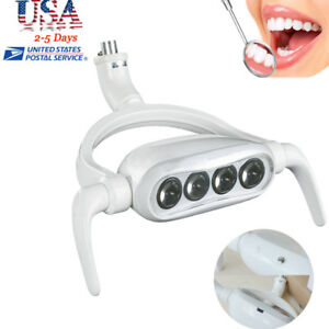 Led Oral Light Lamp For Dental Chair Unit 4 Led Bulbs 8000lux 25000lux usa