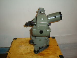 Vintage Optical Theodolite 1 Ussr Russia Transit Survey Level 1963