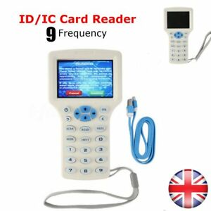 9 Frequency Copy Encrypted Nfc Smart Card Rfid Copier Id ic Reader Writer New Ha