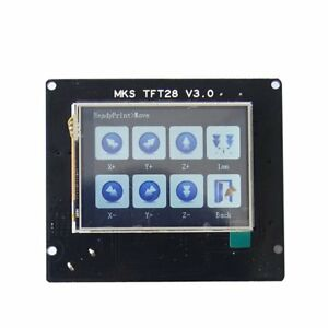 3d Printer Parts Mks Tft28 Module Full Color Touch Screen For Smoothieware Ha