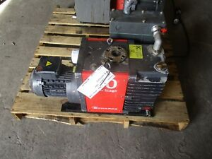 Edwards 40 2 Stage Vacuum Pump Model e2m40 Lafert Motor 50 60hz 1024315h Used