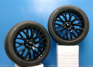 Set Of 2 19 Ford Mustang 2015 18 Wheels Tires 10038 19x9 5 Pirelli 275 40zr19