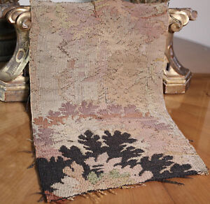 18th Century French Aubusson Tapestry Fragment