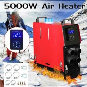 5000w Diesel Air Heater Lcd 12v 5kw For Trucks Motor homes Boats Bus Car My