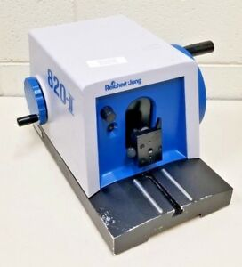 Cambridge Instruments Reichert jung Model 820 ii Histocut Rotary Microtome