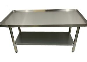 Grill Equipment Stand Stainless Steel 30 X 60 Heavy Duty Nsf