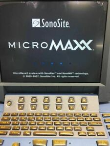 Sonosite Micromaxx Portable Ultrasound Machine probes Available