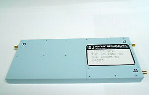 117722 001 Telonic Berkeley Inc Freq Stage Mixer 50 325 Mghz Coaxial Nos