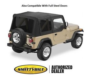 Smittybilt Tinted Oem Replacement Top Door Skins For 1988 1995 Jeep Wrangler Yj