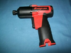 New Snap on Lithium Ion Ct761aqc 1 4 Hex Quick Change Impact Driver Tool Only