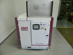 2012 50hp Gardner Denver Rotary Screw Air Compressor Model Eah99a 200 Cfm