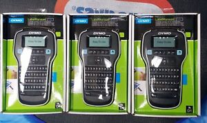 3 Three Dymo Labelmanager 160 Label Manager Labelers With D1 Cartridges Bundle