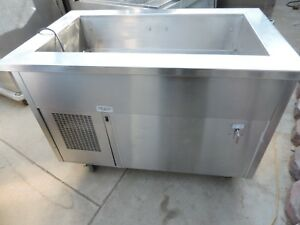 Cold Food Table Cart randell Model Ran Sca 3 Stainless Steel