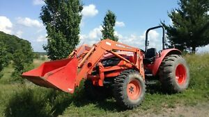 Kubota M5640sud Tractor W Front End Loader