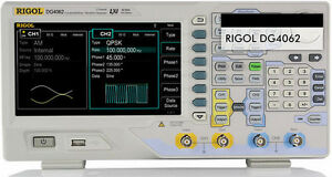 New Rigol Function arbitrary Waveform Generators Dg4062 60mhz 500msa s 14 Bits