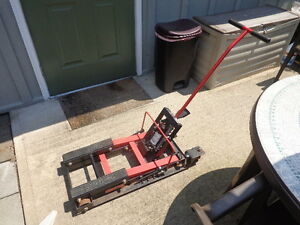 Motorcycle Jack Lift Stand Atv Hydraulic 1500 Lb Capacity pick Up Only