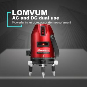 Lomvum L6000100 5lines 6points Outdoor Tripod Laser Level Self leveling 360 Ns