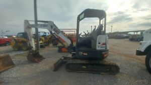 2014 Bobcat E35 Excvator Mini Ex Trackhoe 1035hrs Used