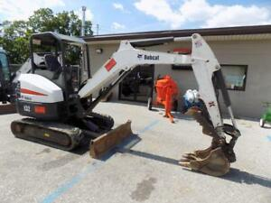2014 Bobcat E32 Mini Excavator Low Hours 2 Speed Hydraulic Thumb 24hp Diesel