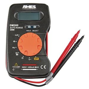 Pocket Sized Digital Multimeter Electrical Tools Home Garage Auto Shop