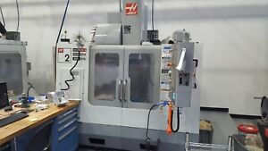 Used 2006 Haas Vf 2 Cnc Vertical Machining Center Mill 30 000 Rpm High Speed