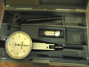 Mitutoyo No 513 203 Indicator 0001 With Box Tested By A Die Maker Works Good